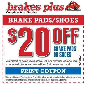 Brakes Plus Coupons